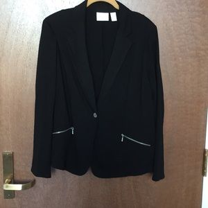 Black blazer no lining